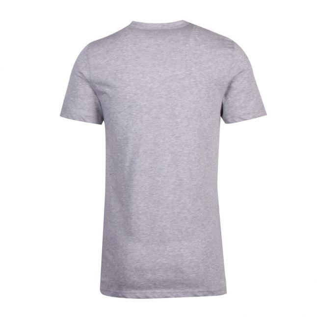 Mens Grey Melange Branded 2 Pack S/s T Shirts