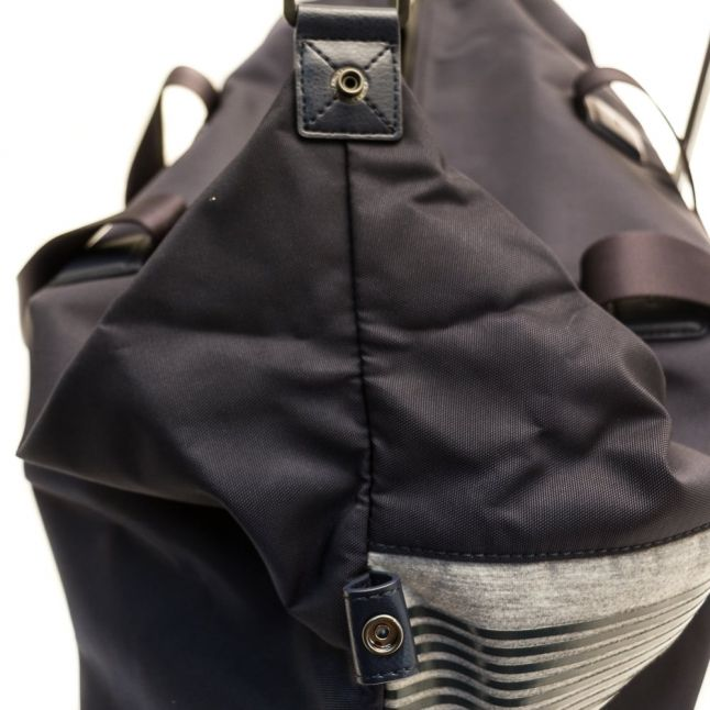 Mens Navy Pixel Holdall Bag