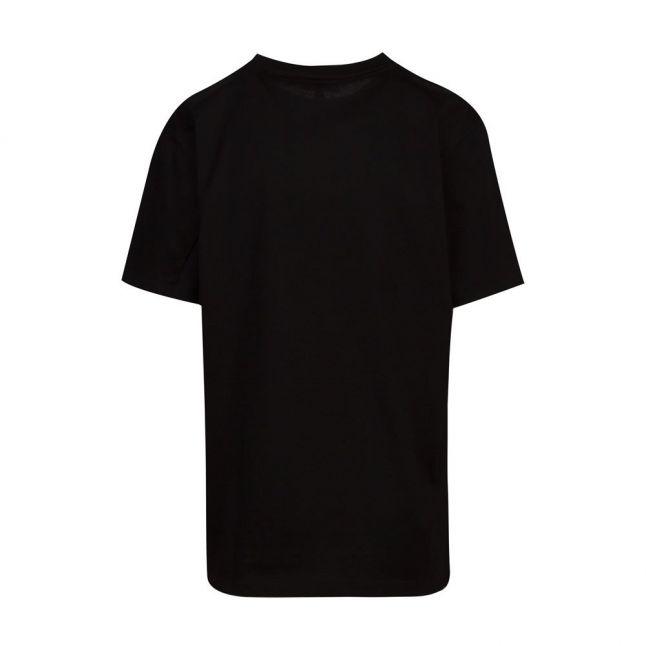 Womens Black Abbee Slogan S/s T Shirt