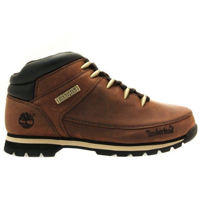 Mens Dark Brown Euro Sprint Hiker Boots
