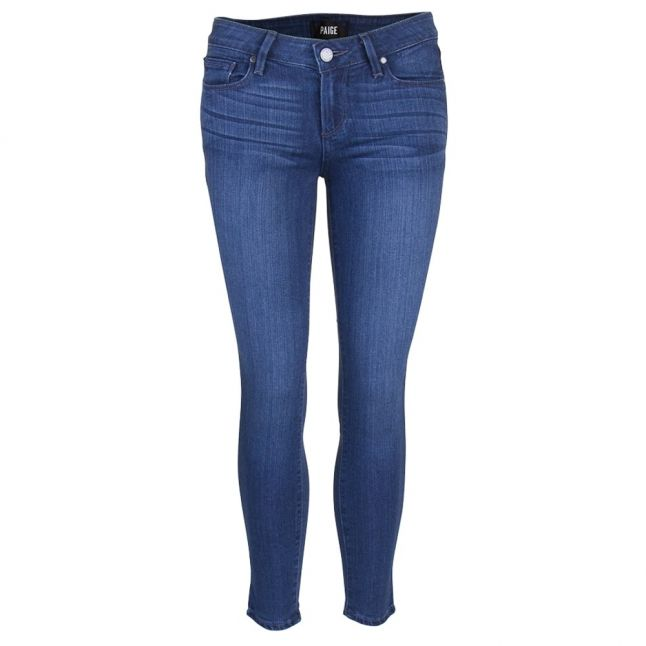 Paige Womens Edie Verdugo Cropped Skinny Fit Jeans