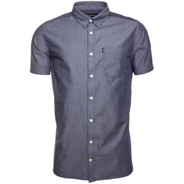 Lifestyle Mens Indigo Elsdon S/s Shirt