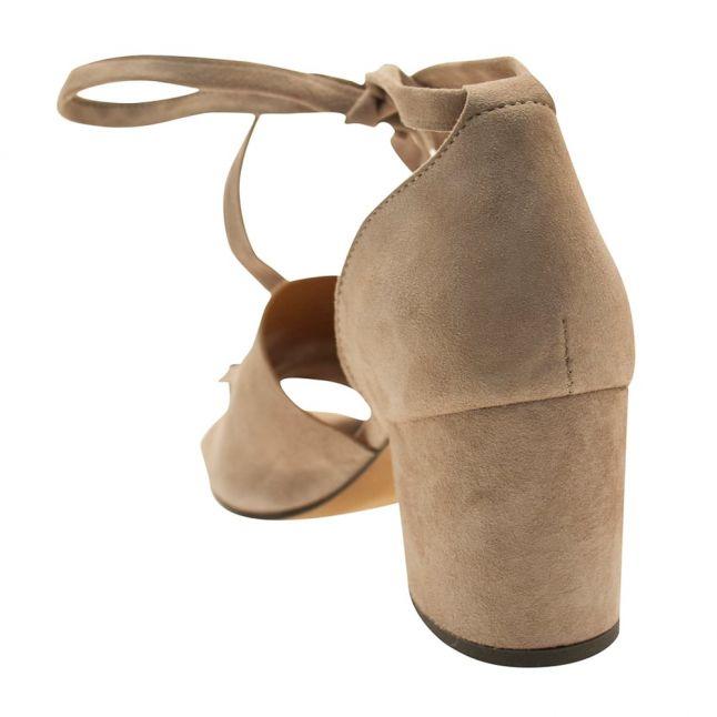 Womens Grey Metta Suede Shoe