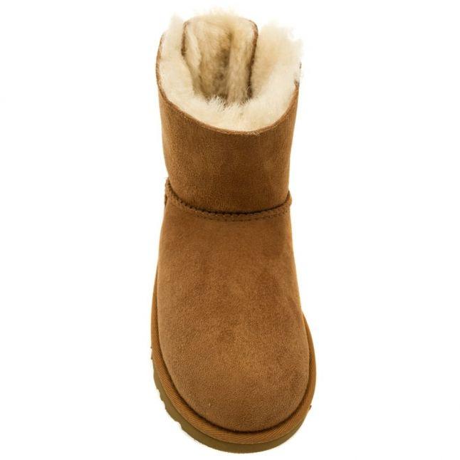 Kids Chestnut Mini Bailey Bow Boots (12-3)