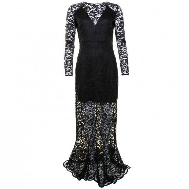 Womens Black Dazzling Dress