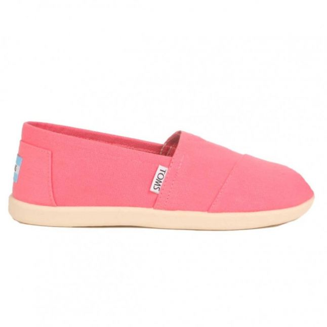 Youth Pink Canvas Classic (11-5)