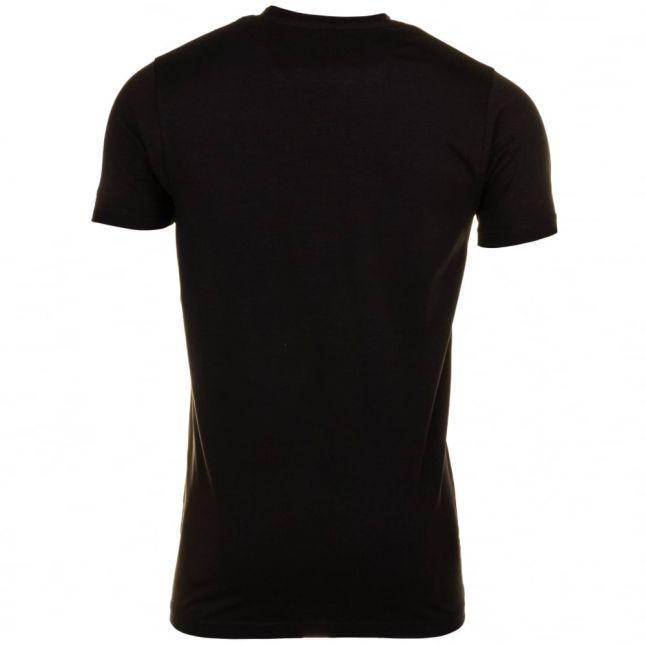 Mens Black Daley 3 S/s Tee Shirt