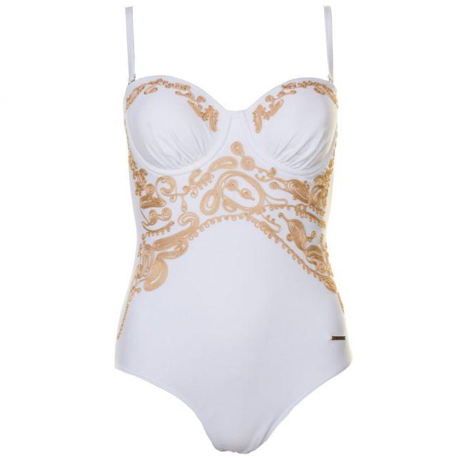 Womens White Emeliaa Swimsuit