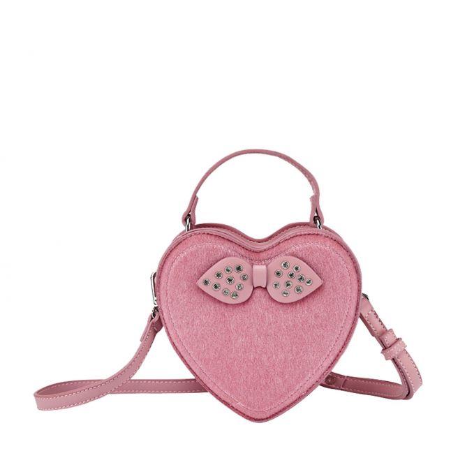 Girls Blush Heart Crossbody Bag