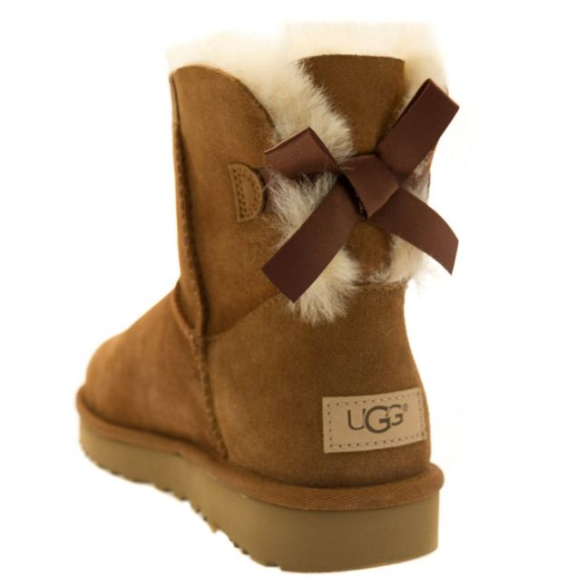 Womens Chestnut Mini Bailey Bow II Boots