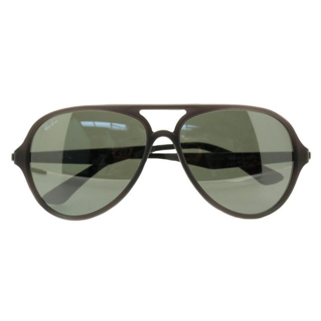 Matte Grey & Mirror RB4235 Sunglasses