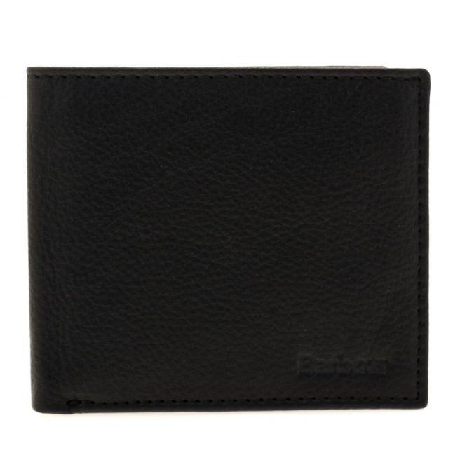 Lifestyle Mens Black Standard Leather Wallet