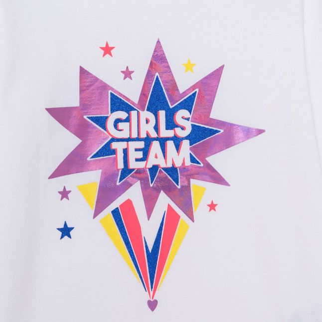 Girls Ivory Girls Team L/s T Shirt
