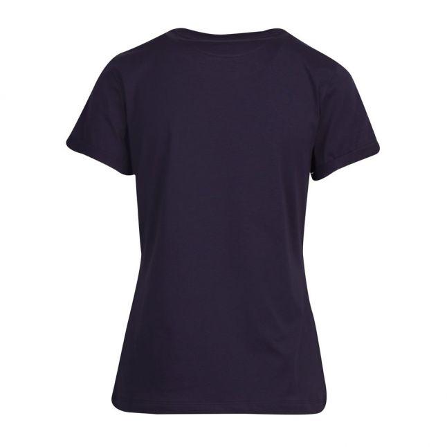 Womens Dark Blue The Slim Tee 9 S/s T Shirt