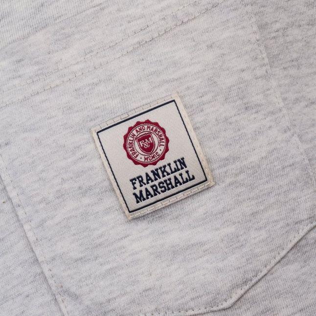 Mens Original Grey Logo Pocket S/s Tee Shirt