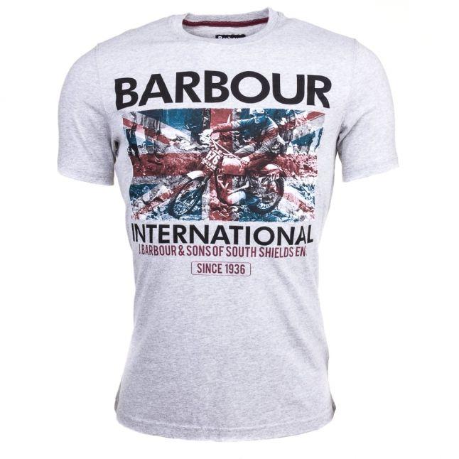 Mens Grey Marl Hydro S/s Tee Shirt