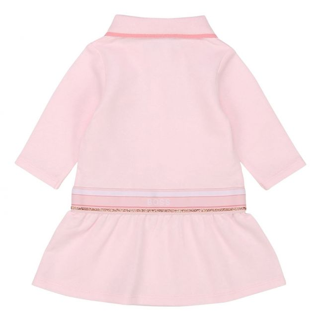 BOSS Baby Pale Pink Polo L/s Dress