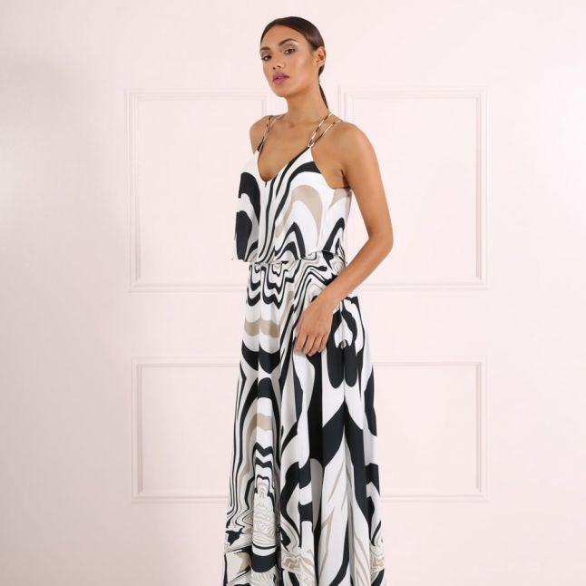 Womens Monoprint Miley Dress