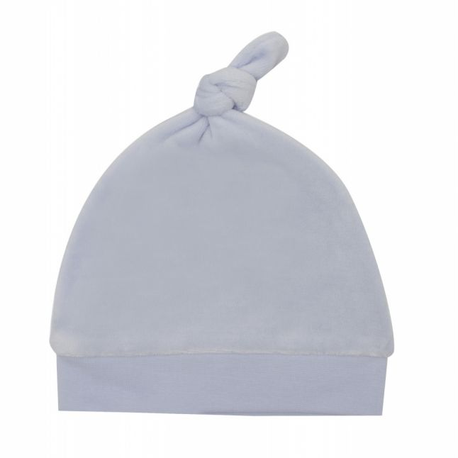 Baby Pale Blue Soft Branded Hat