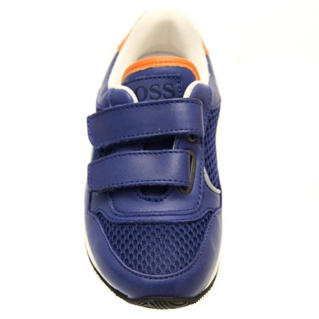 Boys Blue Branded Trainers (27-36)