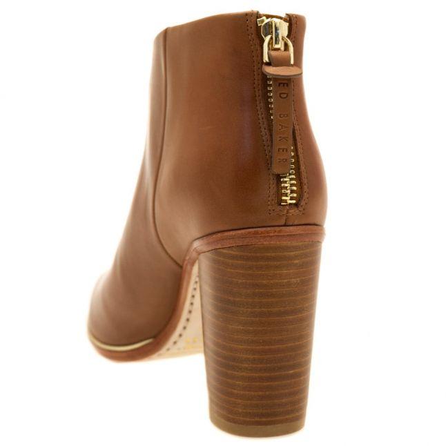 Womens Dark Tan Lorca 3 Ankle Boots