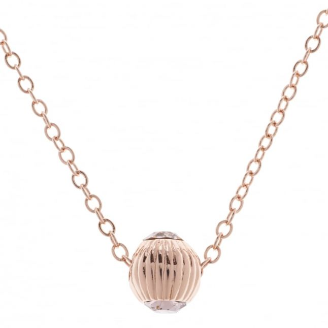 Womens Rose Gold & Vintage Allya Pendant Necklace