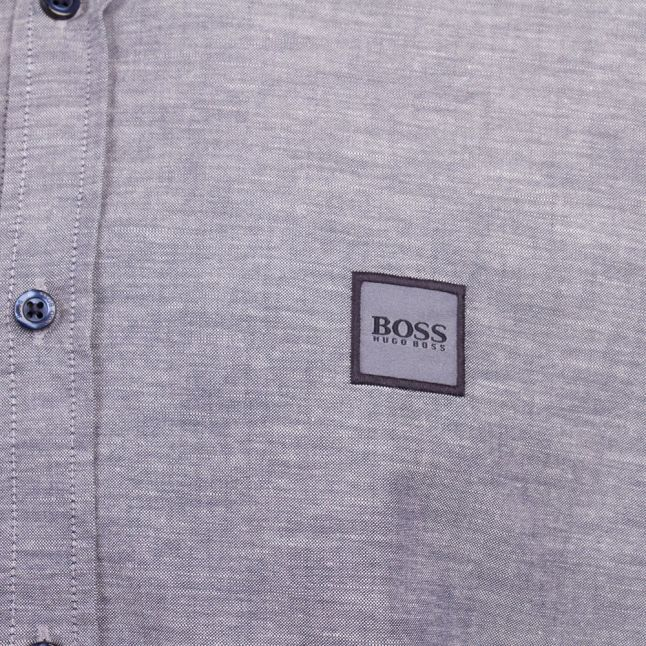 Casual Mens Dark Blue Mabsoot_1 L/s Shirt