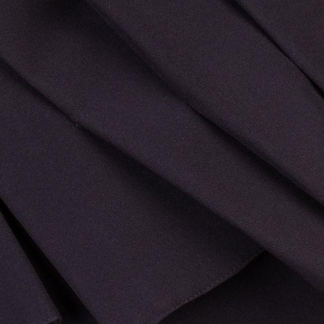 Womens Black Ruffle Panel Jumpsuit