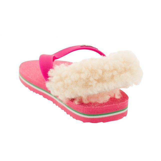 Infant Pink Yia Yia II Neon Flip Flops (XS-4XL)