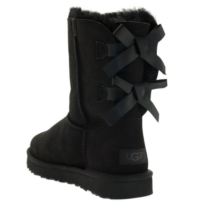 Womens Black Bailey Bow II Boots
