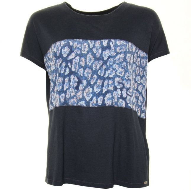 Womens Dark Blue Tasmashi S/s Tee Shirt