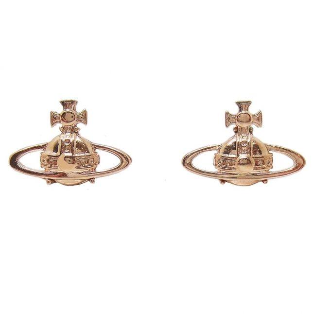 Womens Pink Gold Suzie Earrings
