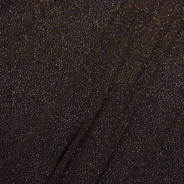Womens Black Vidance Glitter Jumpsuit