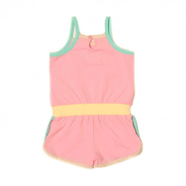 Baby Jassyeb Playsuit in Pink