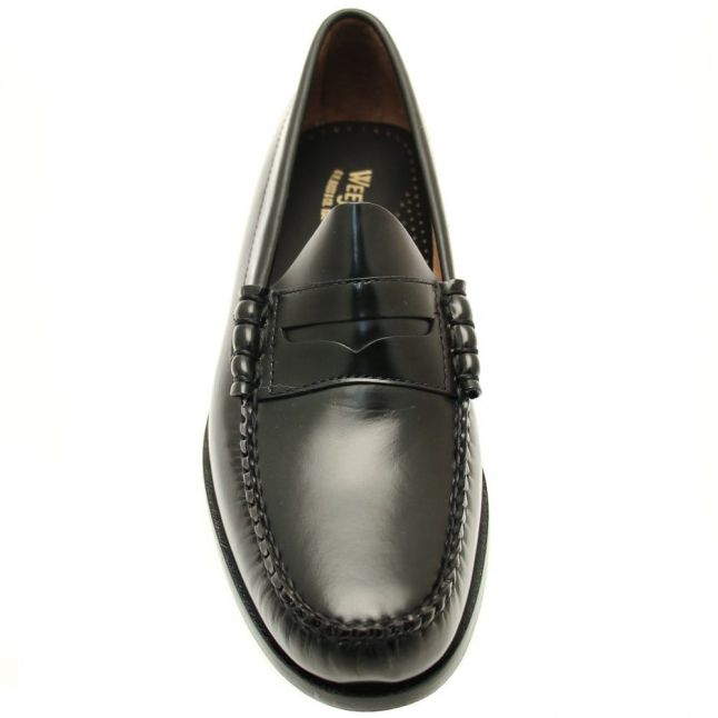 Mens Black Weejuns Larson Penny Loafers