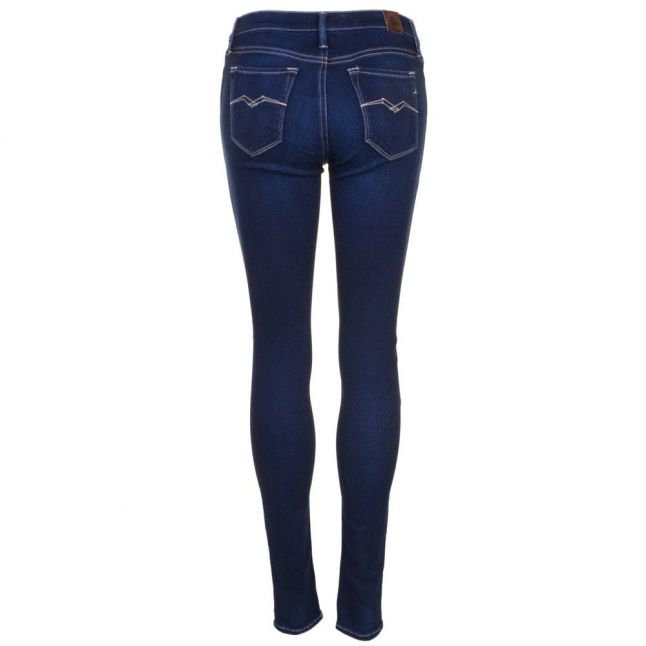 Womens Blue Wah Joi High Waisted Skinny Fit Jeans