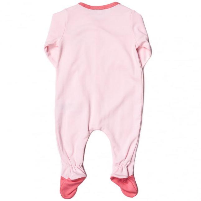 Baby Pink Babygrow & Bib Set