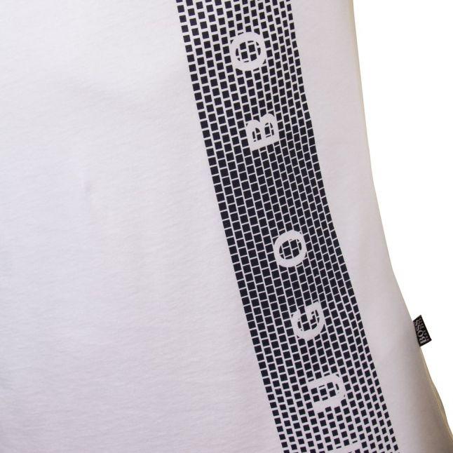 Boss Mens Natural Slim-fit UV S/s Tee Shirt