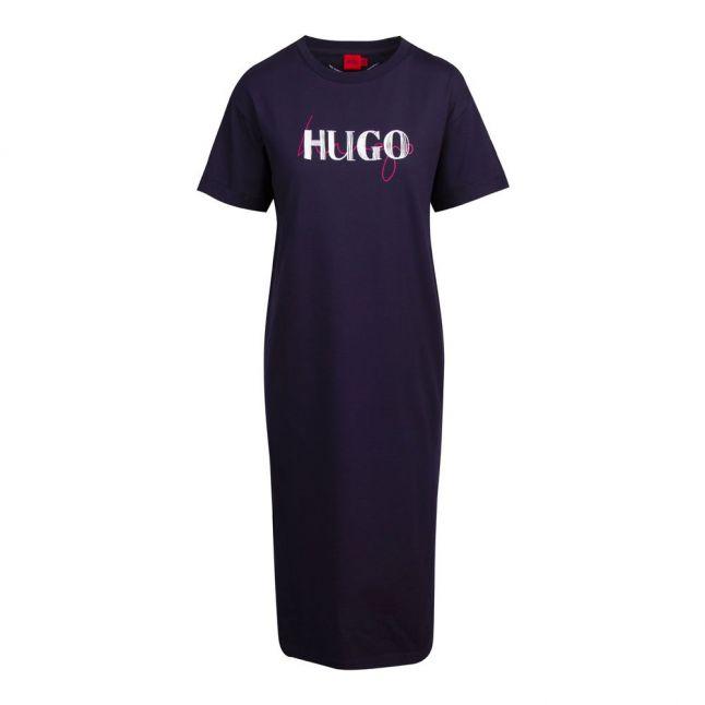 Womens Dark Blue Naily Jersey Dress