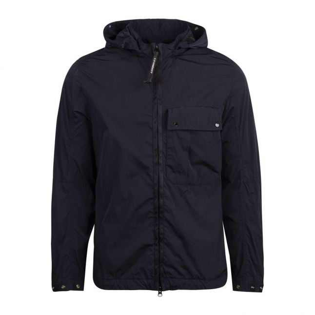 Mens Total Eclipse Goggle Hooded Zip Through Overshirt