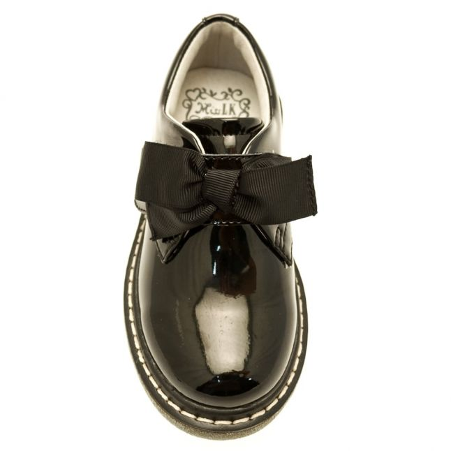 Girls Black Patent Irene Shoes (26-38)