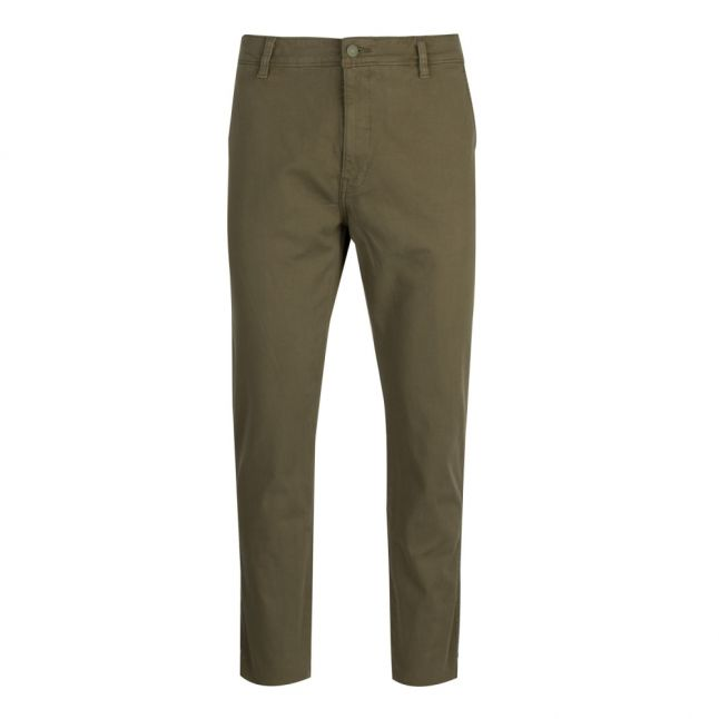 Mens Bunker Olive STD II Tapered Fit Chinos