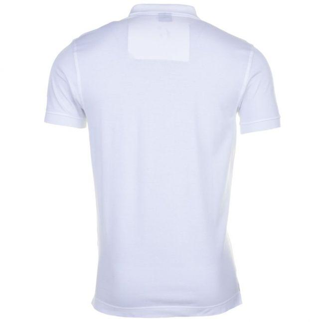 Paul & Shark Mens White Shark Fit Basic S/s Polo Shirt