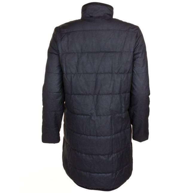 Heritage Womens Black Waxed Baffle Jacket