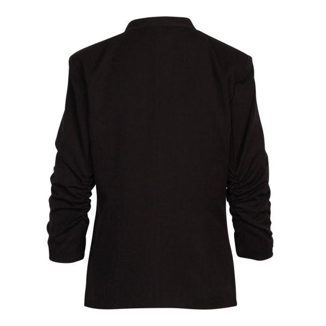 Womens Black Viher 3/4 Sleeve Blazer