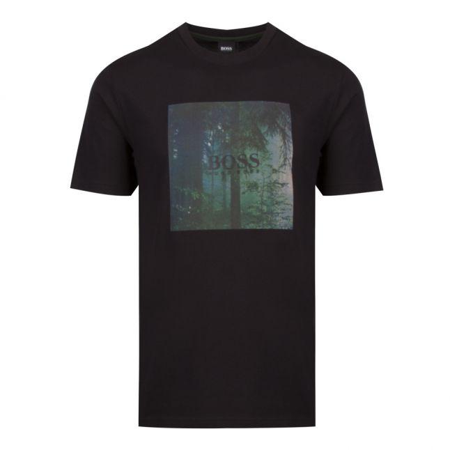 Casual Mens Black TipOff 3 S/s T Shirt