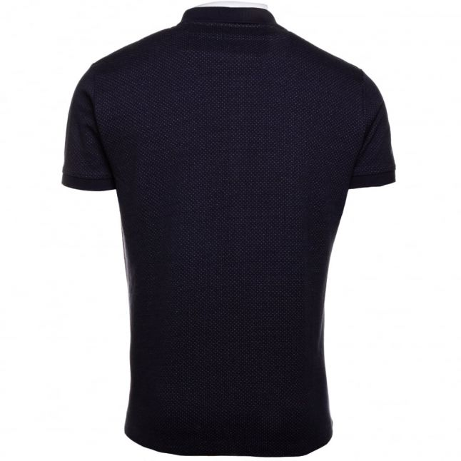 Mens Navy T-Kalar-Dots S/s Polo Shirt