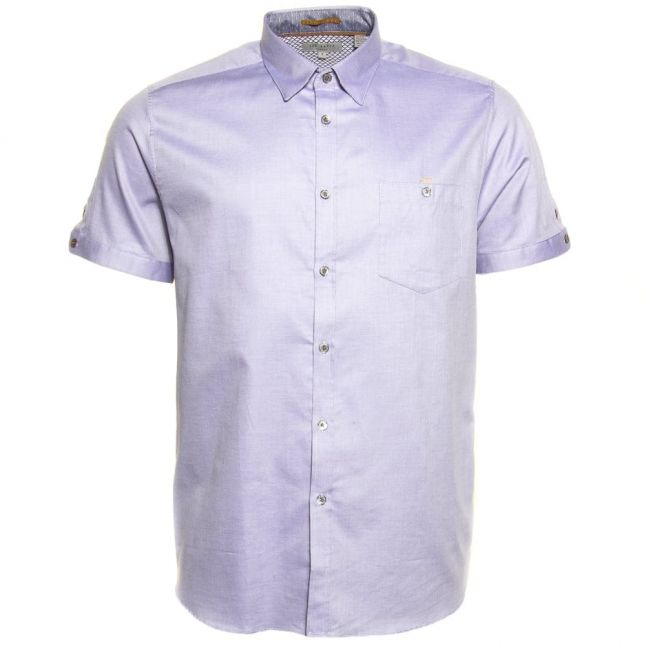 Mens Blue Beachee S/s Shirt