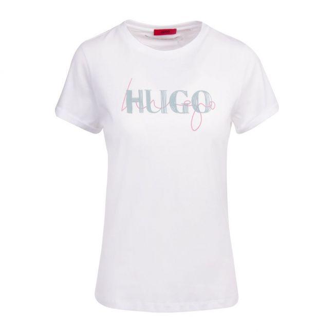 Womens White The Slim Tee 9 S/s T Shirt