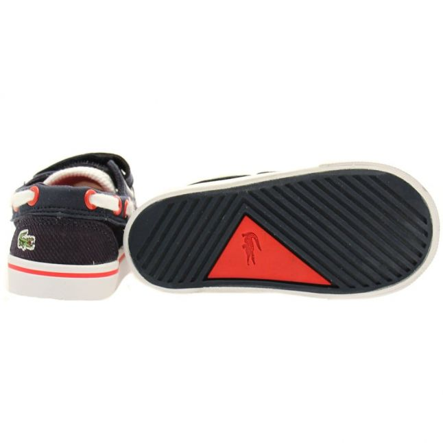Infant Navy & White Keel 116 Trainers (4-9)